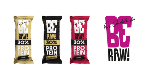 Nowości BeRAW – batony proteinowe 30%