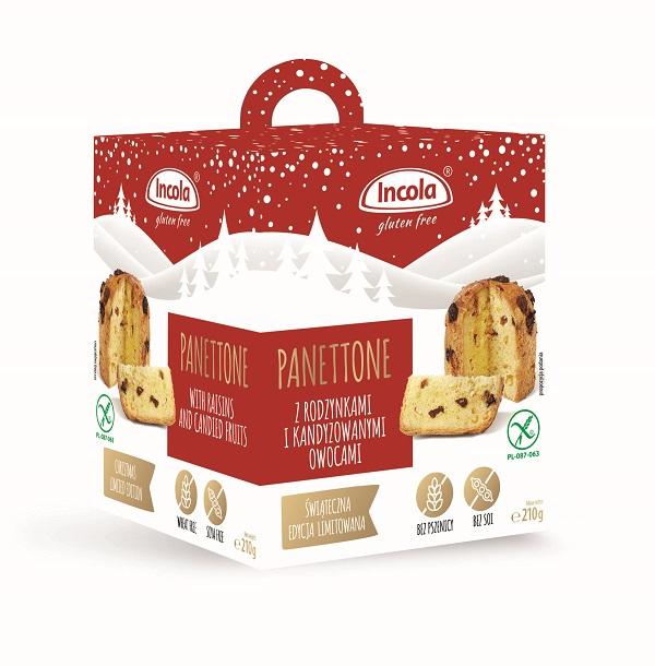 Boże Narodzenie 2020 bez glutenu – babka Panettone Incola